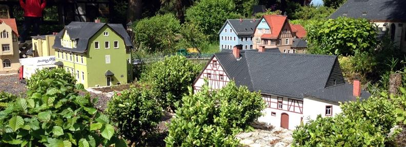 Miniaturaustellung Klein Erzgebirge