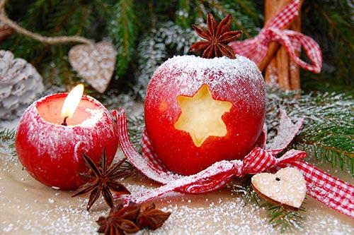 Weihnachtsarrangement im Naturhotel Lindenhof in Holzhau