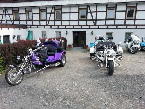 Bikertour Hotel Lindenhof Erzgebirge