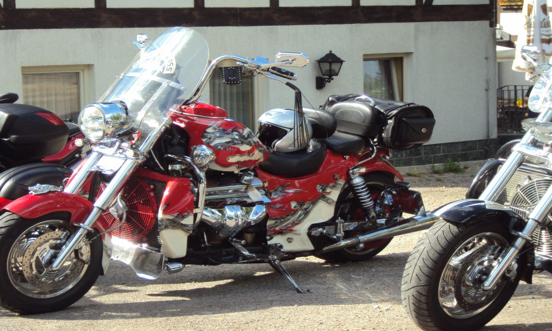 Motorradtouren im Erzgebirge Holzhau Lindenhof