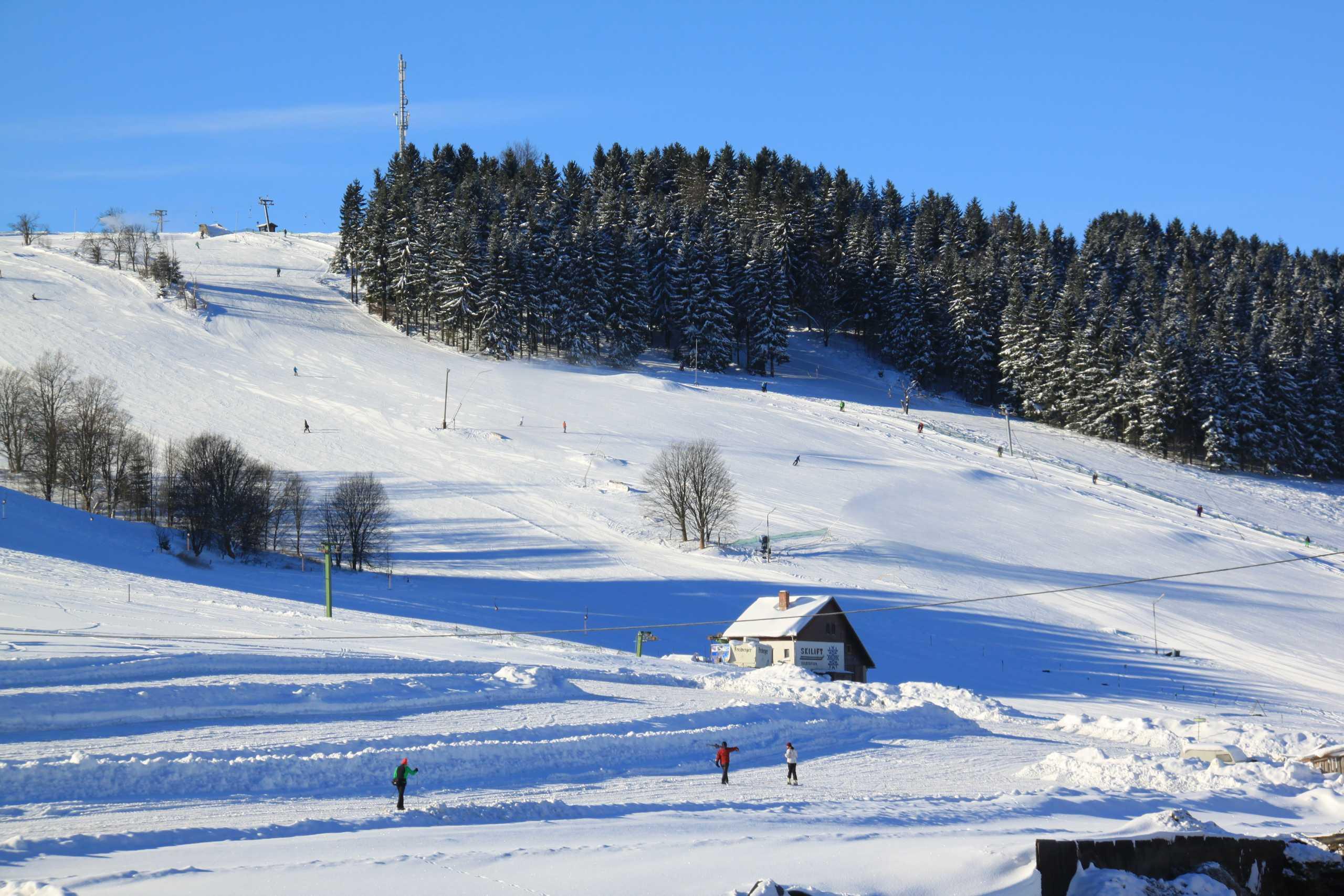 Winterurlaub im Skigebiet Holzhau Hotel Lindenhof